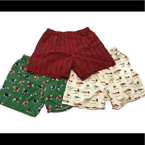 J. Crew Lot of 3 Men's Boxer Shorts
